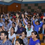 Delhi Heritage Quiz_enthusiastic audience