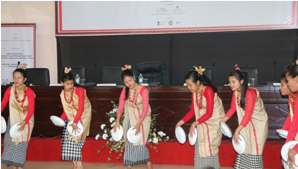 Jaintia dance at the inaugural session