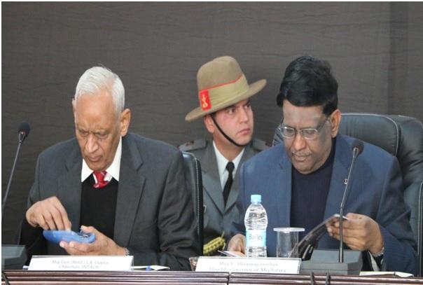 Maj. Gen. L.K. Gupta, Chairman, INATCH and Hon'ble Governor, Meghalaya Sh. V Shanmuganathan
